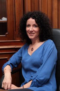 Manager Cristina Singeorzan